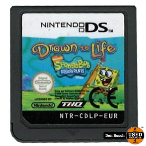Drawn to Life Spongebob (losse cassette) - DS Game
