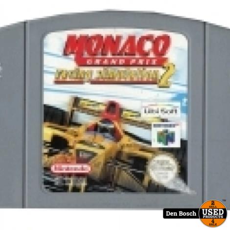 Monaco Grand Prix Racing Simulation 2 - N64 Game