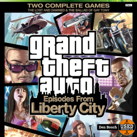 Grand Theft Auto 4 Episodes from Liberty City - Xbox  360 Game