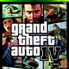 Grand Theft Auto 4 - X 360 Game