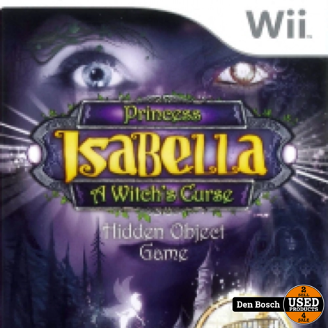 Princess Isabella - Wii Game