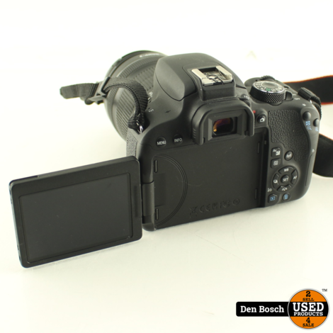 Canon EOS 800D + Canon EFS 18-135mm Objectief