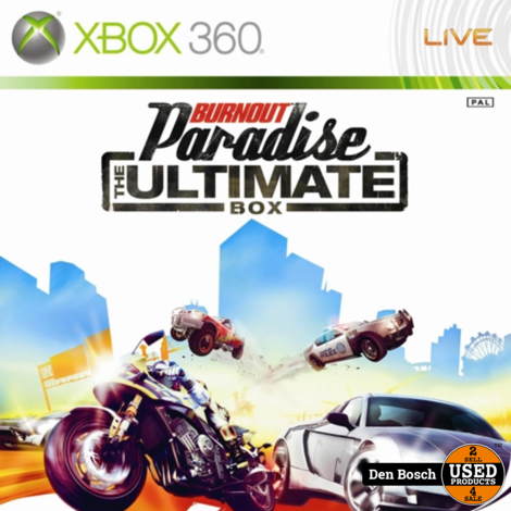Burnout Paradise the Ultimate Box - Xbox 360 Game