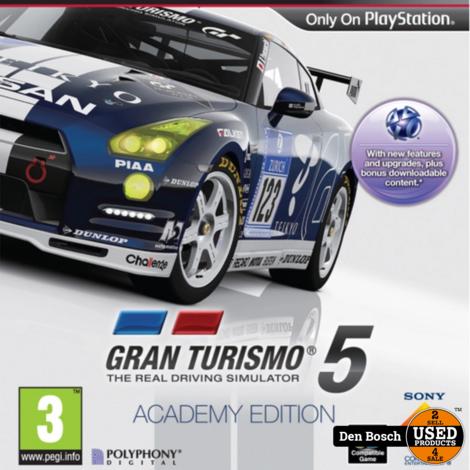 Gran Turismo 5 Academy Edition - PS3 Game