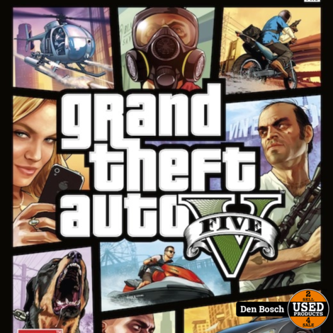 Grand Theft Auto 5 (GTA V) - X 360 Game