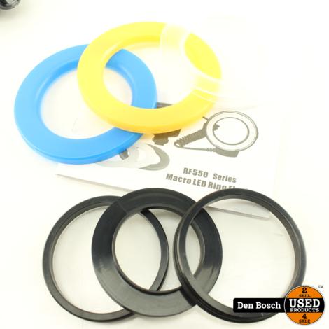 Andoer RF-550D Ring Flash Ringlicht voor Camera's