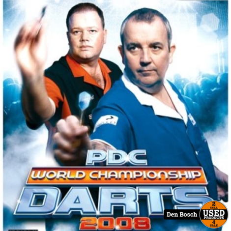 PDC World Championship Darts 2008 - Wii Game