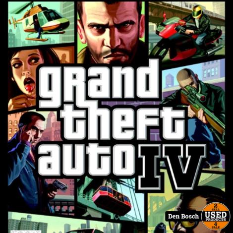 Grand Theft Auto 4 - XBox360 Game