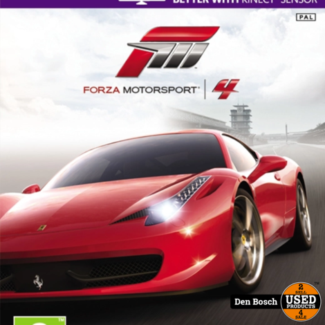 Forza Motorsport 4 - XBox360 Game