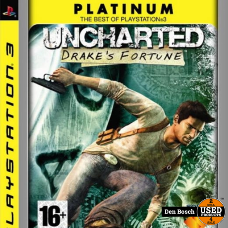 Uncharted Drake's Fortune Platinum - PS3 Game