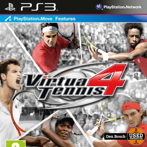 Virtua Tennis 4 - PS3 Game
