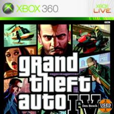 Grand Theft Auto IV - XBox360 Game