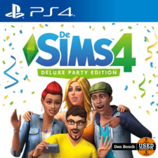 Sims 4 Deluxe Party Edition - PS4 Game