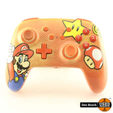 Nintendo Switch Enhanced Wired Controller Mario Vintage