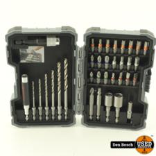 Bosch Professional boor- en schroefbitset voor metaal 35-delig