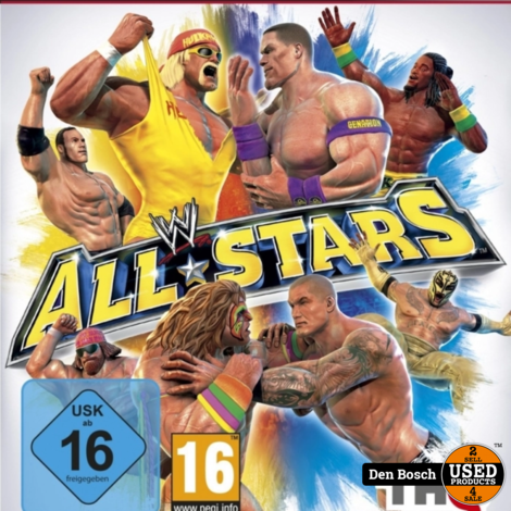 WWE All-Stars - PS3 Game