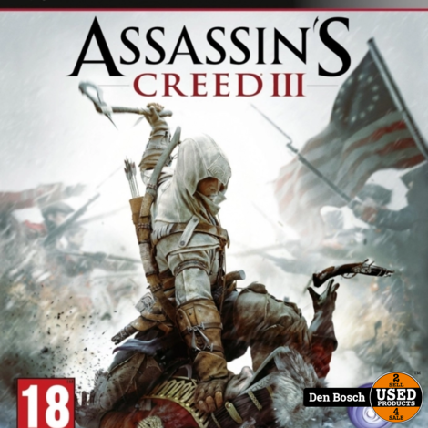 Assassin's Creed 3 - PS3 Game
