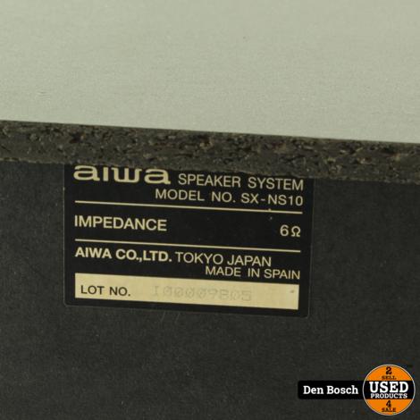 Aiwa SX-NS10 Luidsprekers