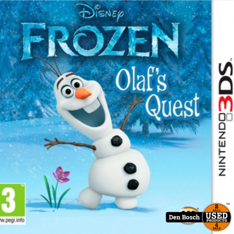 Frozen Olaf's Quest - 3DS Game