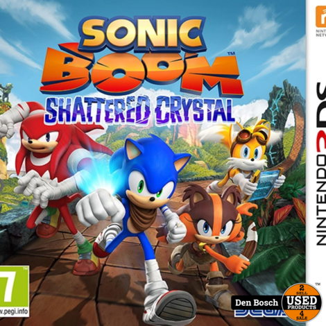 Sonic Boom Shattered Crystal - 3DS Game