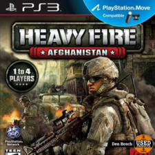 Heavy Fire Afghanistan - PS3 Game