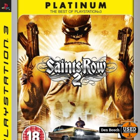 Saints Row 2 Platinum - PS3 Game