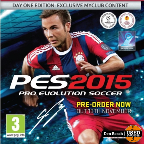 PES 2015 - PS4 Game