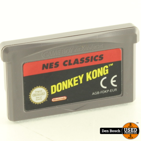 Donkey Kong NES Classics - GBA Game