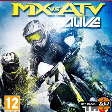 MX vs ATV Alive - PS3 Game