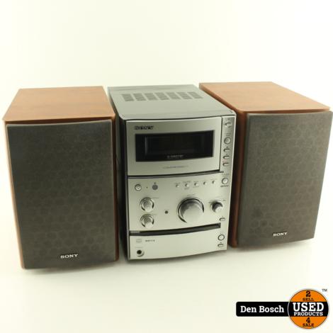 Sony HCD-CPX11 Micro Set met Speakers