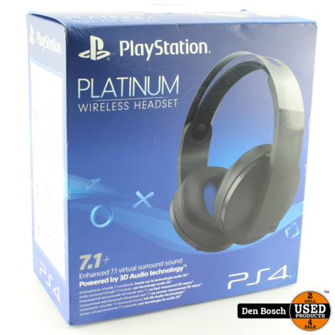 Playstation Platinum Wireless Headset (Sealed)
