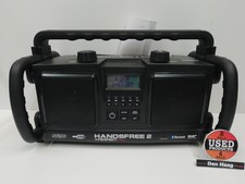 Perfect Pro HANDSFREE 2 worksite radio inclusief oplaadbare batterijen en DAB+