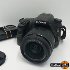 sony Sony a58 digitale camera met 18/55mm lens