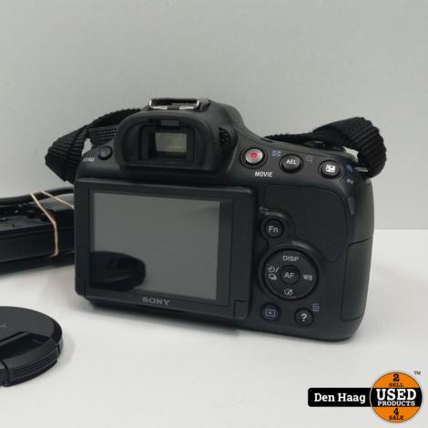 Sony a58 digitale camera met 18/55mm lens