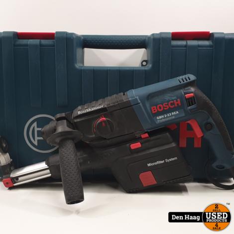 Bosch GBH 2-23 REA SDS Boorhamer met afzuiging in koffer - 710W