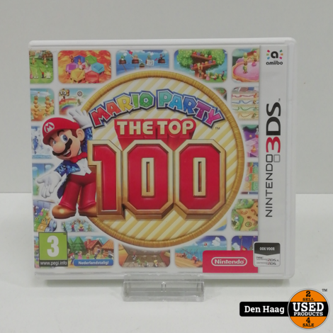Mario Party the Top 100 (3DS)