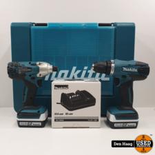 Makita combokit JV183D + DF457D 14,4 Volt
