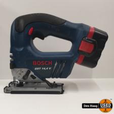 Bosch GST 14.4v accu decoupeerzaag