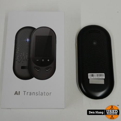 AI Vertaalcomputer PRO 106 talen | Draagbaar vertaaltoestel - Spraak, Foto en Gesprek vertaler