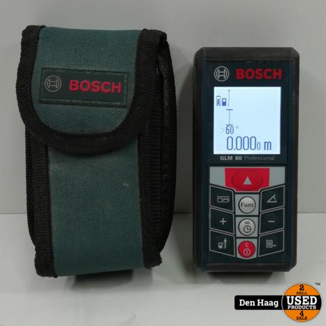 Bosch GLM 80 Laserafstandsmeter