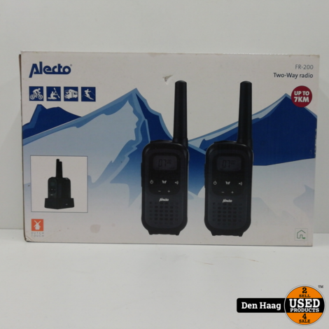 Alecto two-way Radio FR-200