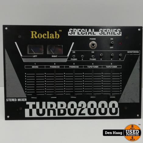 DJ pult-Roclab stereo mixer