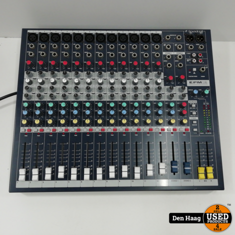 Soundcraft EPM-12 PA en opname Mixer