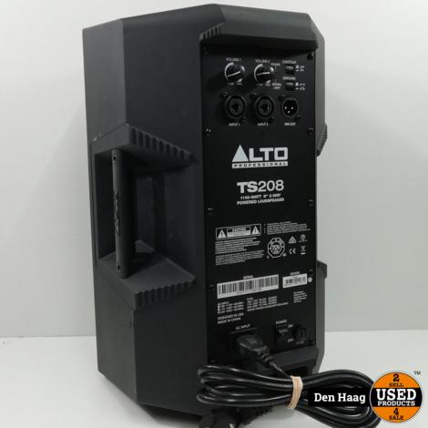 ALTO TRUESONIC TS208 BLACK ACTIEVE SPEAKER