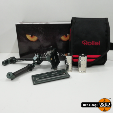 Rollei Mini Wild Cat Stabilizer donkergrijs