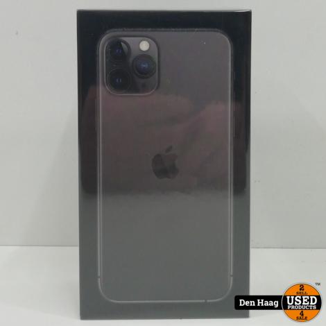 Apple iPhone 11 Pro Space Gray 64GB *Nieuw met bon