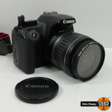 Canon EOS 1000D + 18-55 mm lens