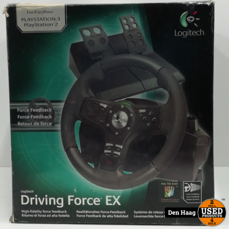 Logitech Driving Force EX PS3 en PS2