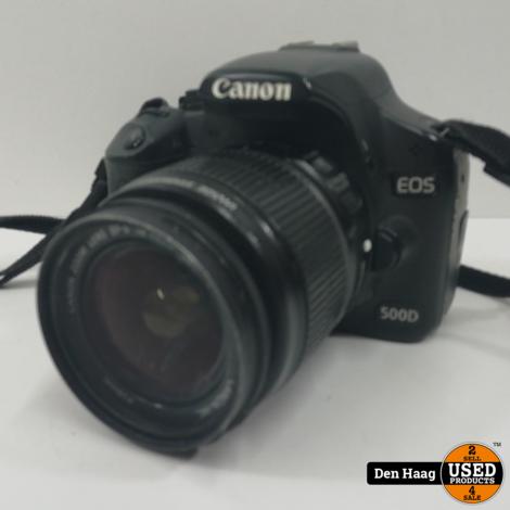 Canon 500D met 15-55mm lens