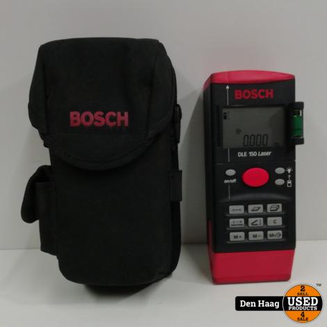 BOSCH AFSTANDMETER DLE-150 Laser